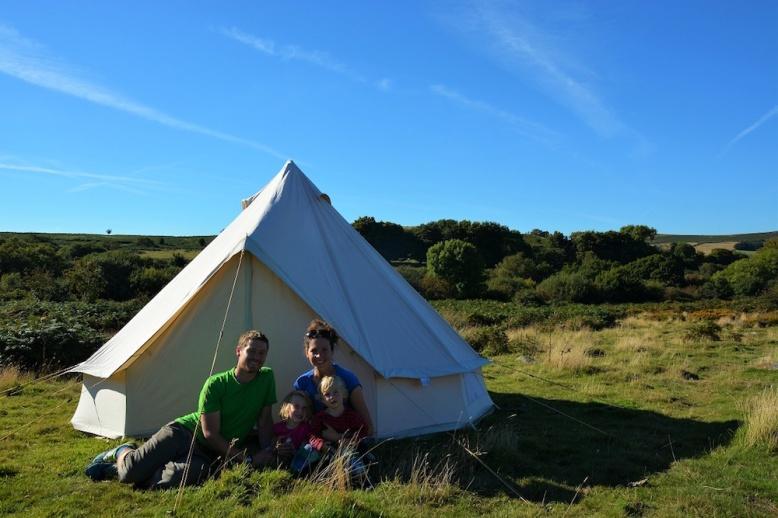 Tent family tiny